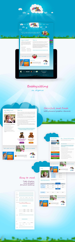 Kidding Yours - Babysitting - Algarve | Design de Website | Sistema de Reservas