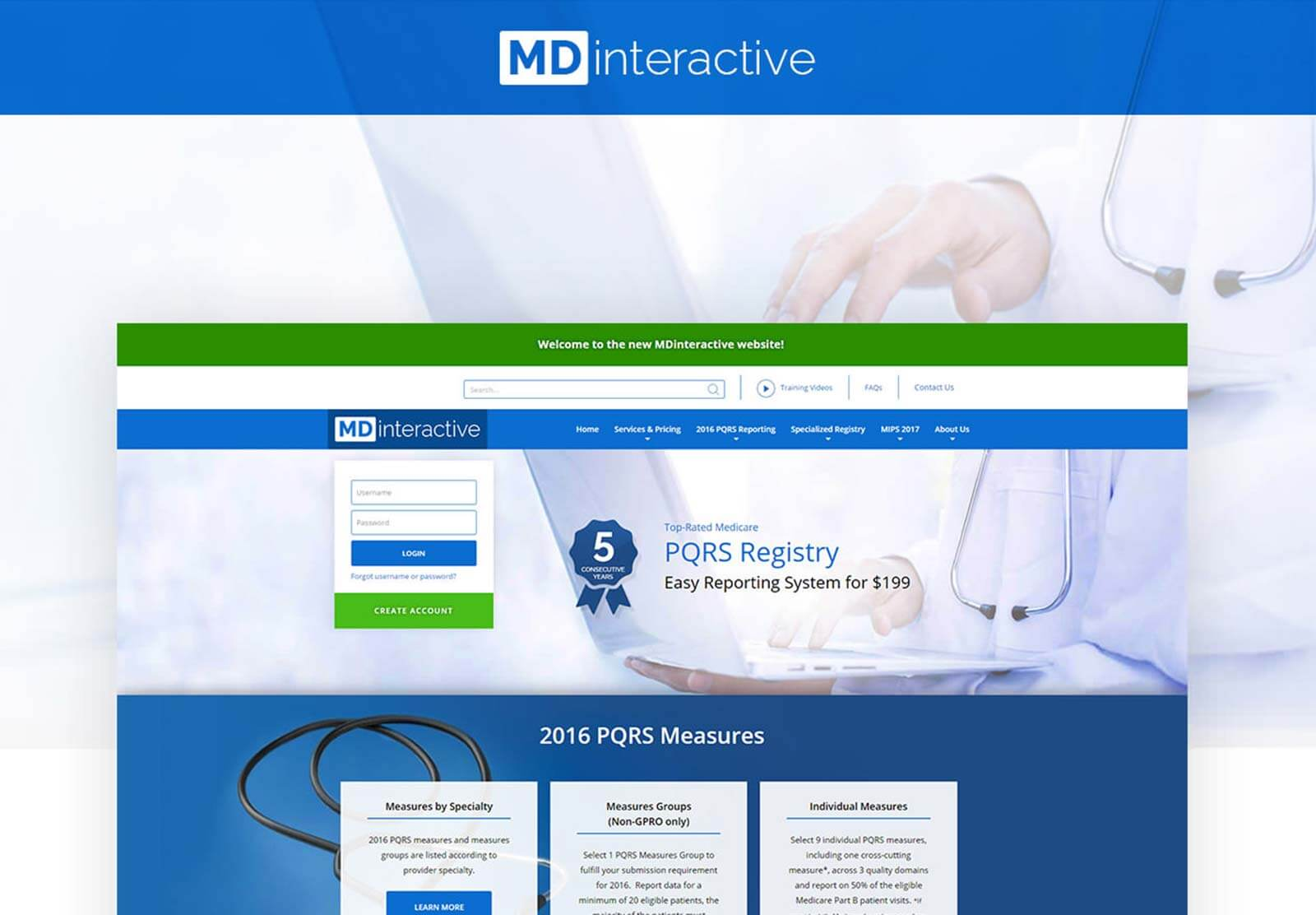 MDinteractive - Website Re-Design & Development | Responsive Design